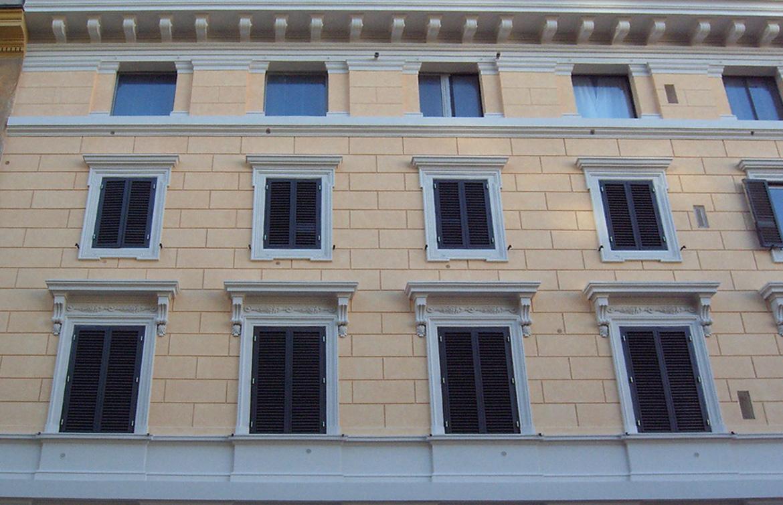 Palazzo, Viale delle Mura Aurelie