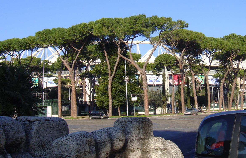 Parco del Foro italico – Stadio del Nuoto